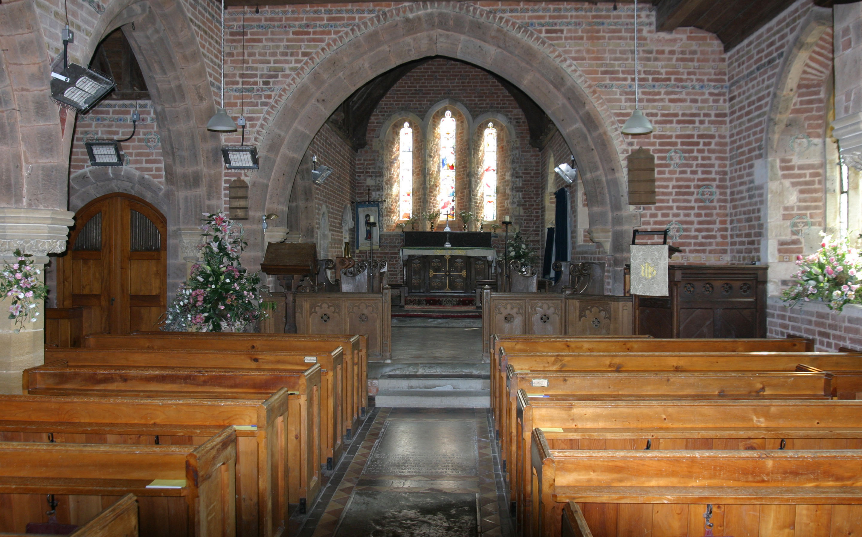 Dancappfutureworks Church Interior Design