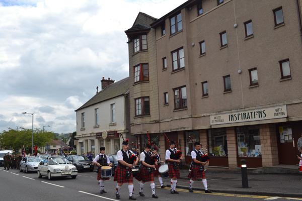 Clackmannanshire Pipe Band