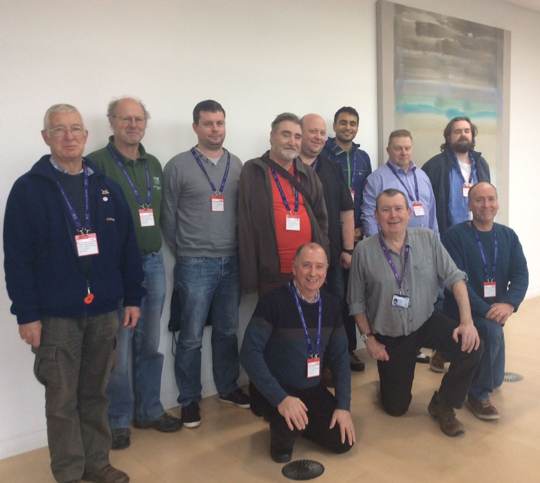 Candidates and trainers from the Oct 2017 course