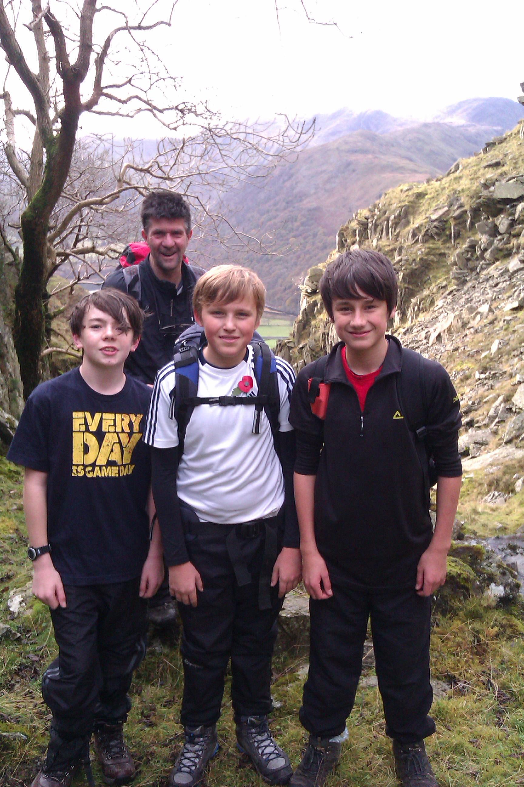 Brian, Adam, Alex & Dan