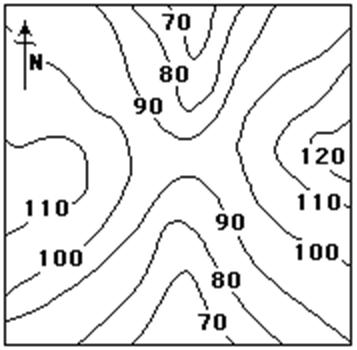 Image Result For Contour Map