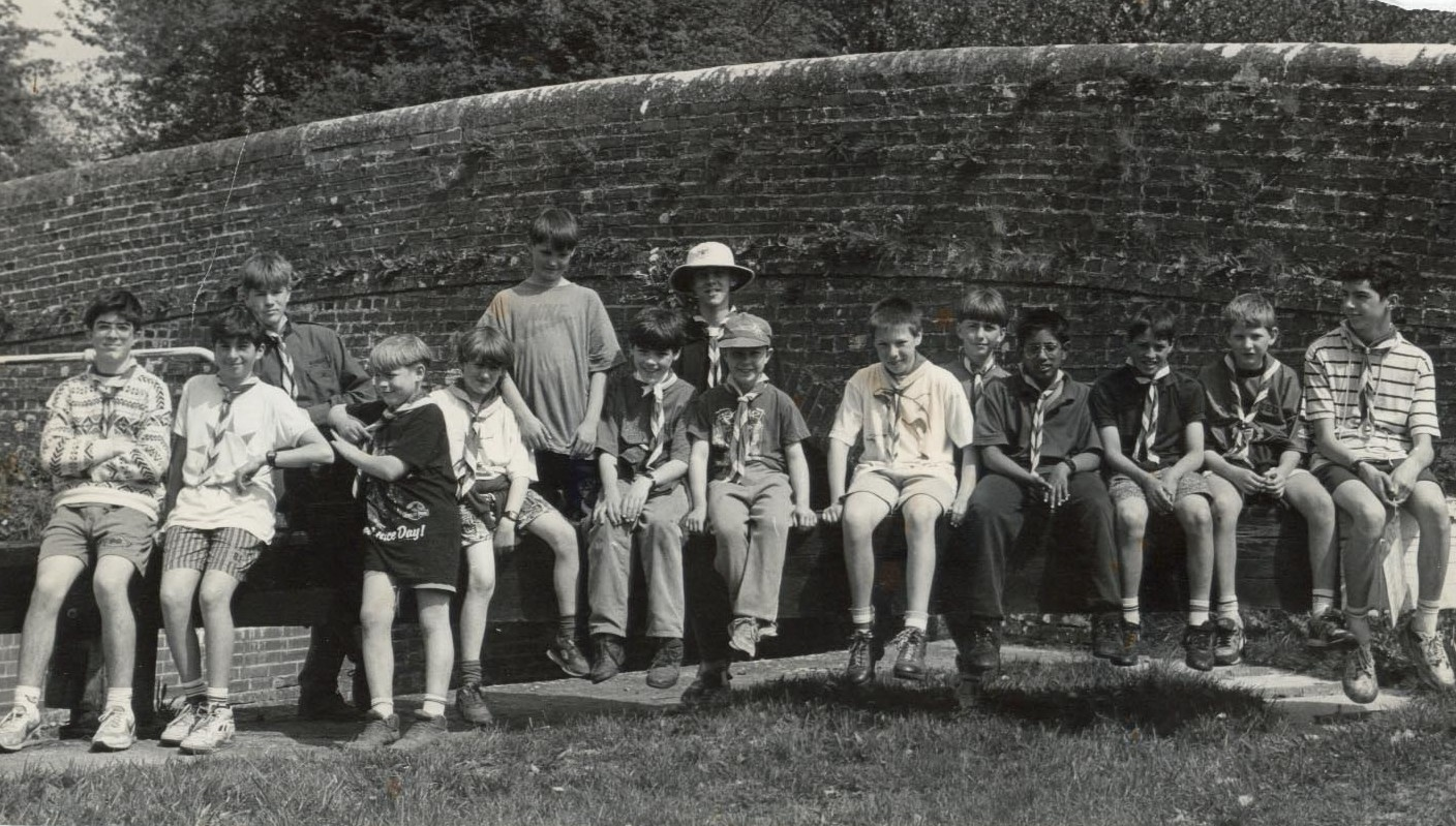Scouts Burbage 1980-90?