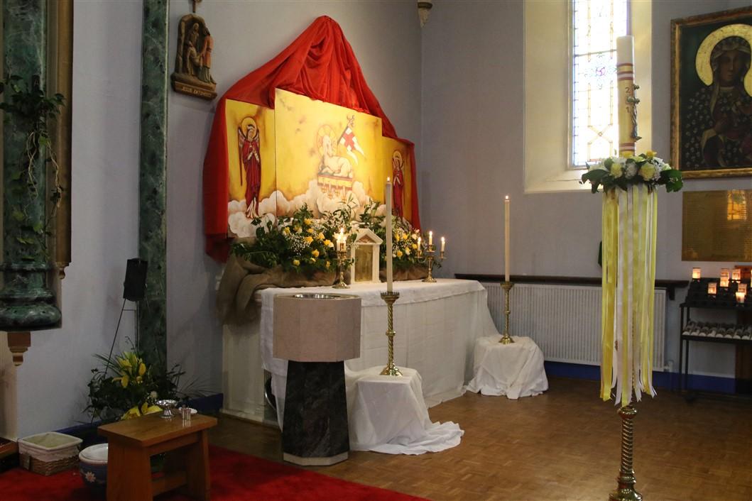 SS John Cantius and Nicholas Catholic Church - Altar of Repose