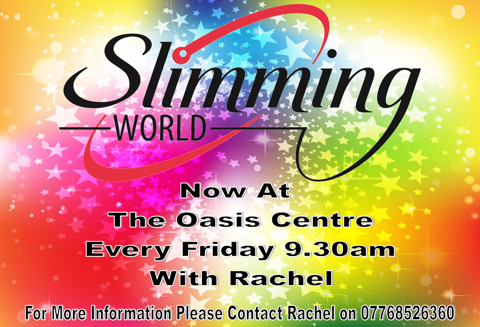 Oasis community centre whats on Slimming world website please