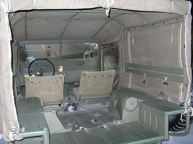 M718 - Interior