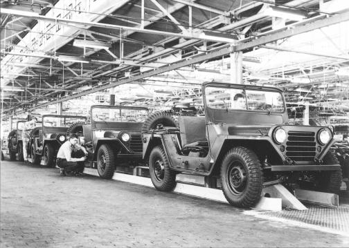 M151's in the production line