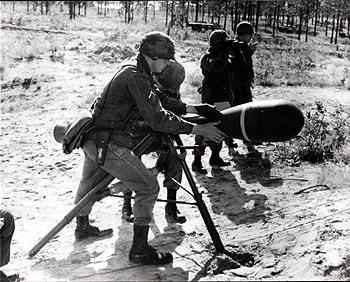 M28 Launcher on Tripod
