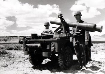 M28 launcher on M38 A1D Willys jeep