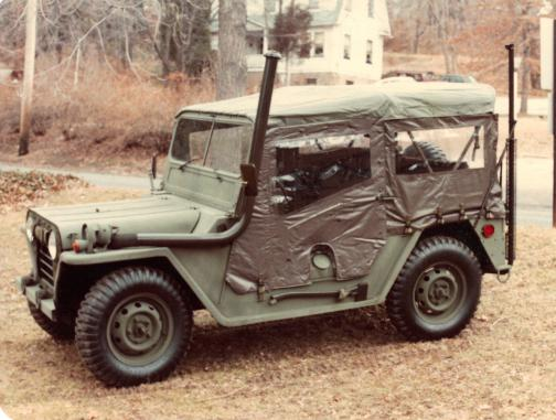 M151 A1 with Fording Kit
