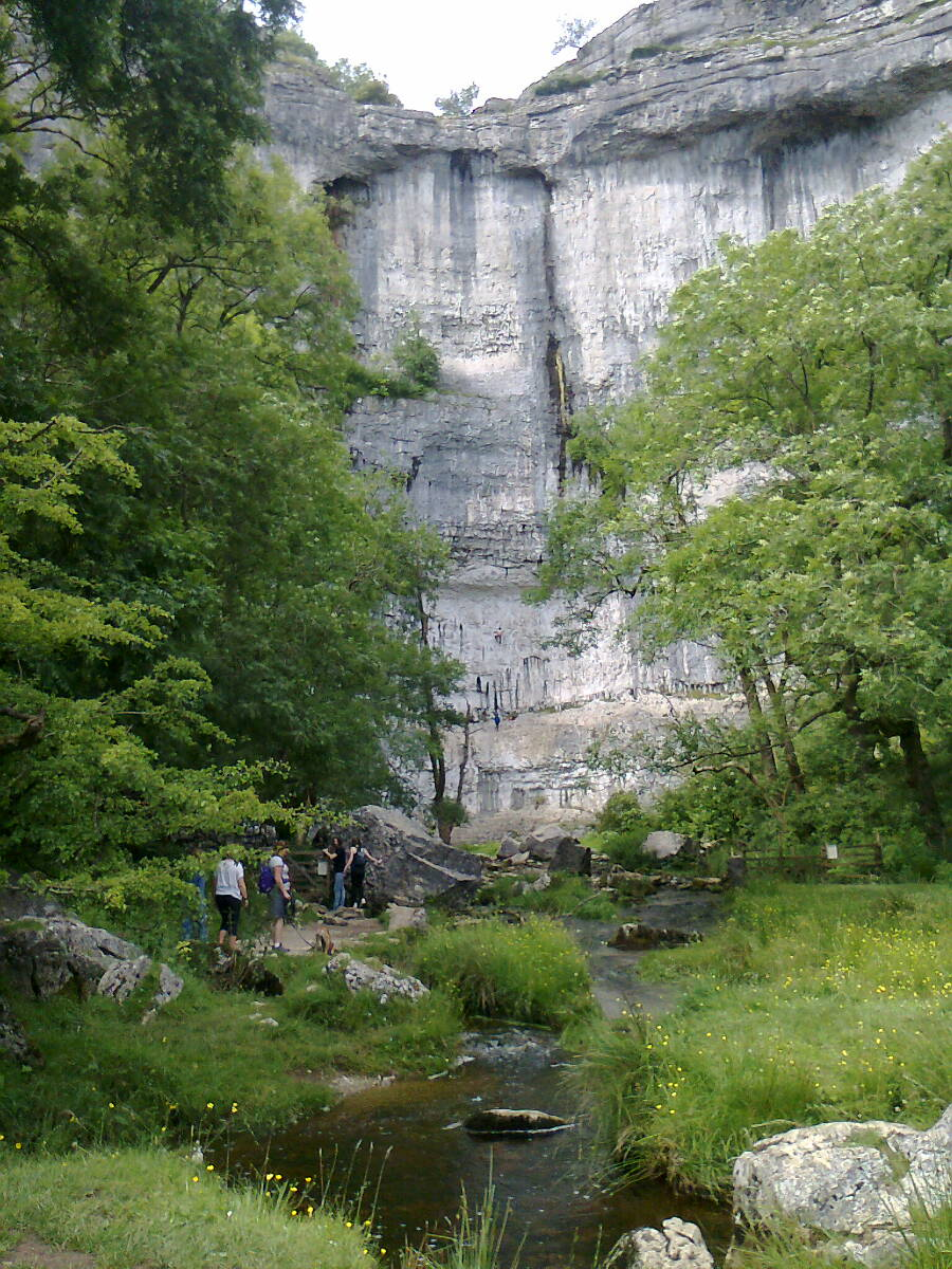 Group at Malham Cove July 2016