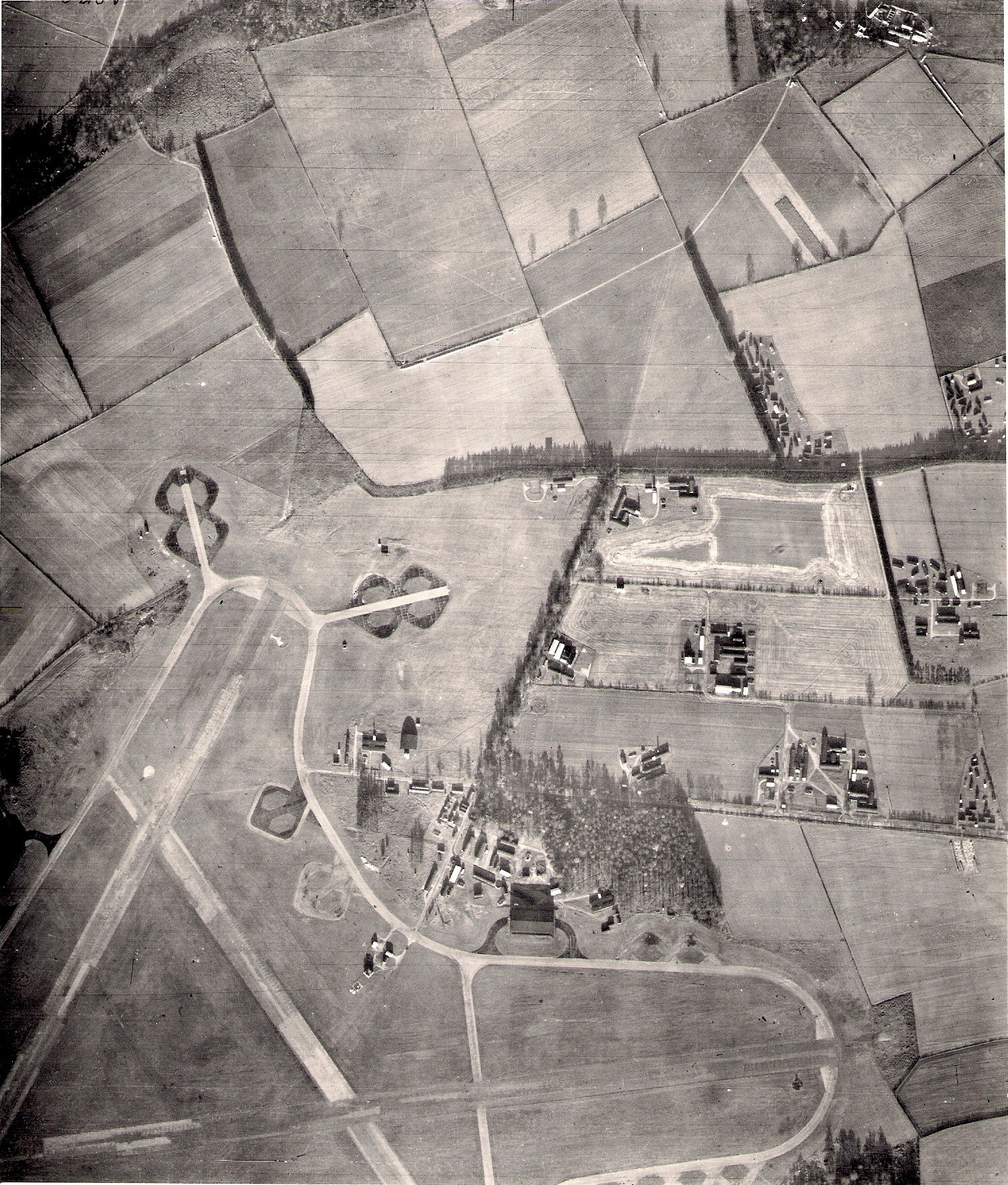 RAF Worksop, RAF Scofton, Airfield, 1950