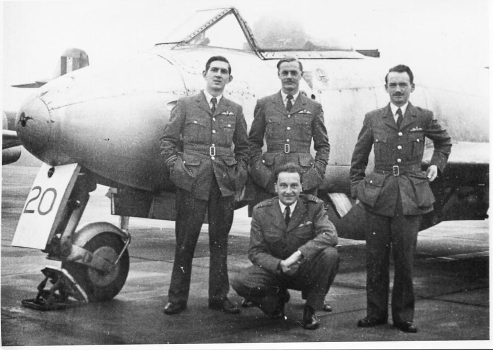 RAF Worksop, Meteor F.8, 211 AFS, Display Team