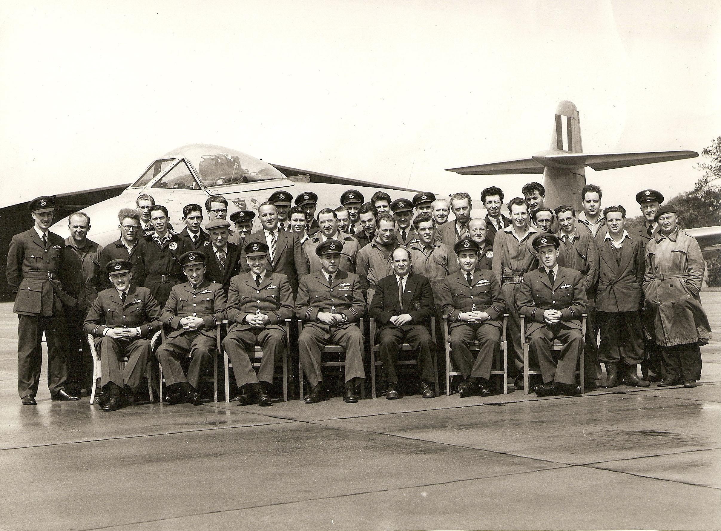 Airwork Services, RAF Worksop, RAF Scofton, ASF Hangar