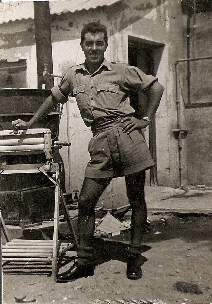 George Gibbs, Al-Adam, Libya, 1958