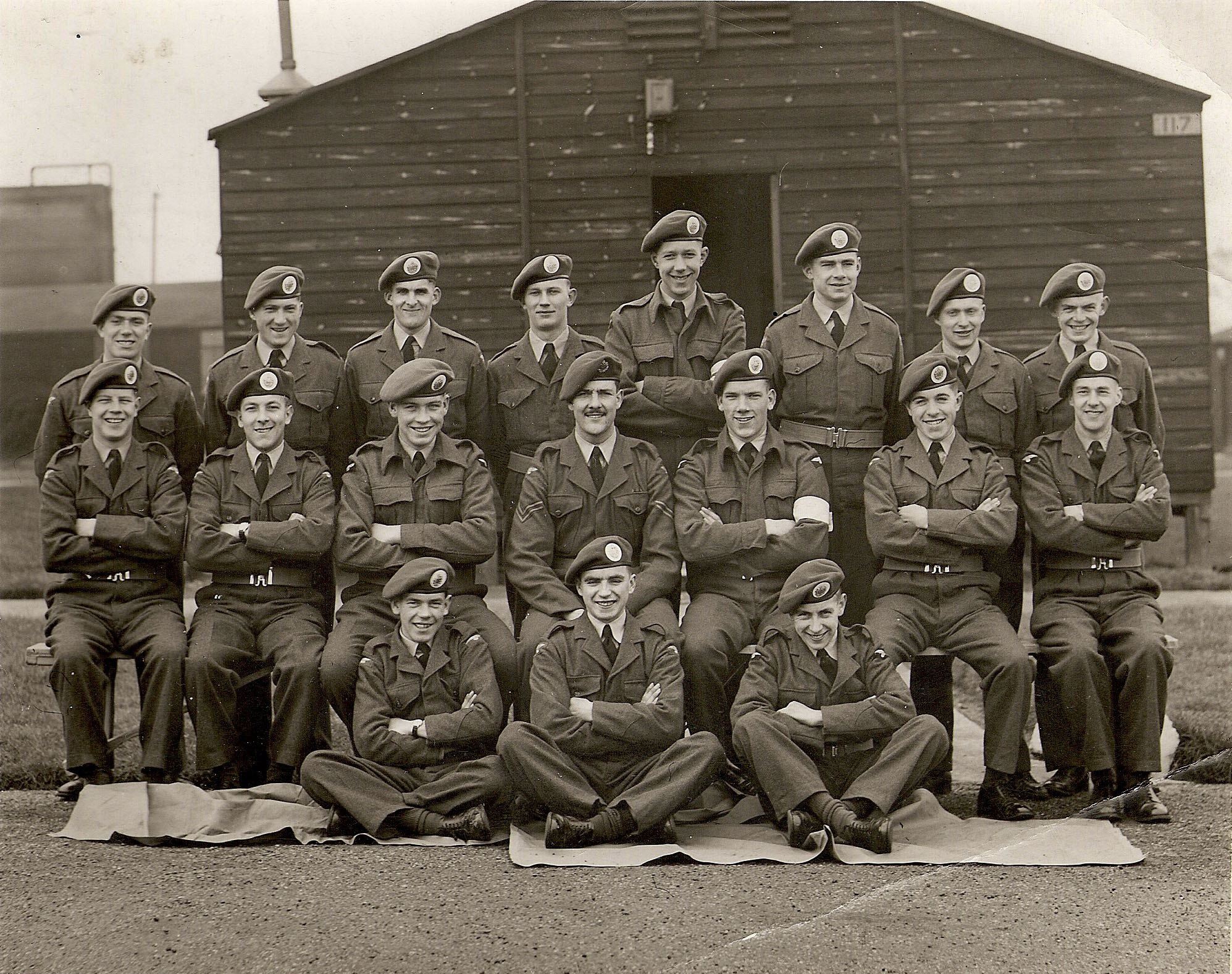 RAF Sutton-on-Hull, George Gibbs, RAF Fire Service