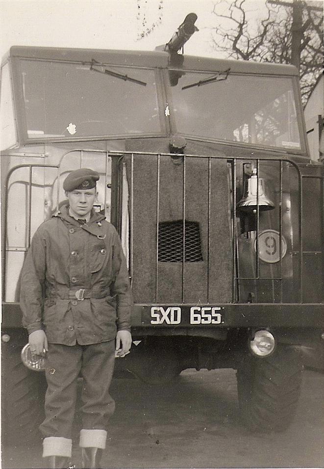 RAF Worksop, RAF Scofton, RAF Fire Service