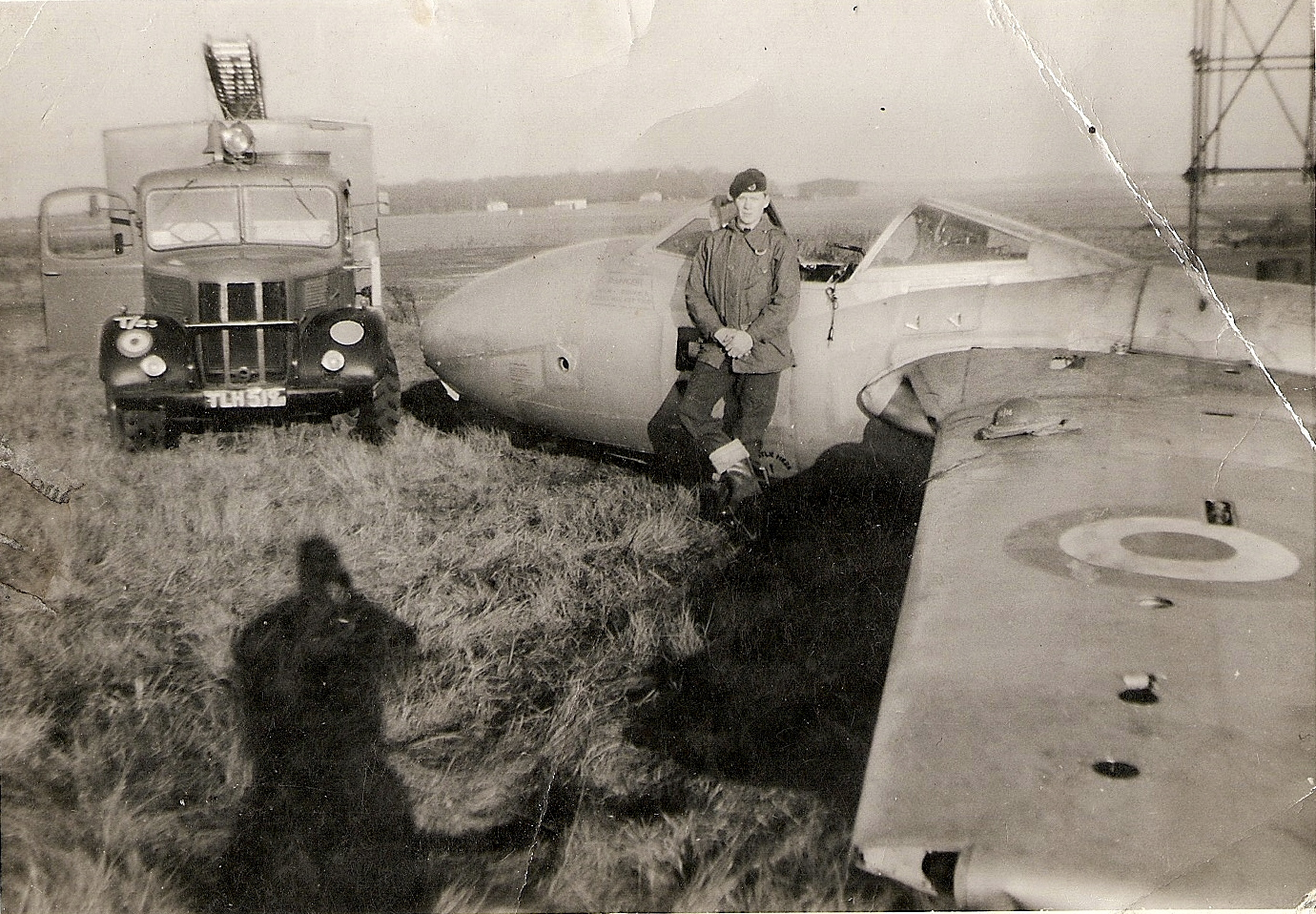 RAF Worksop, RAF Scofton, XE880, De Havilland, Vampire T.11