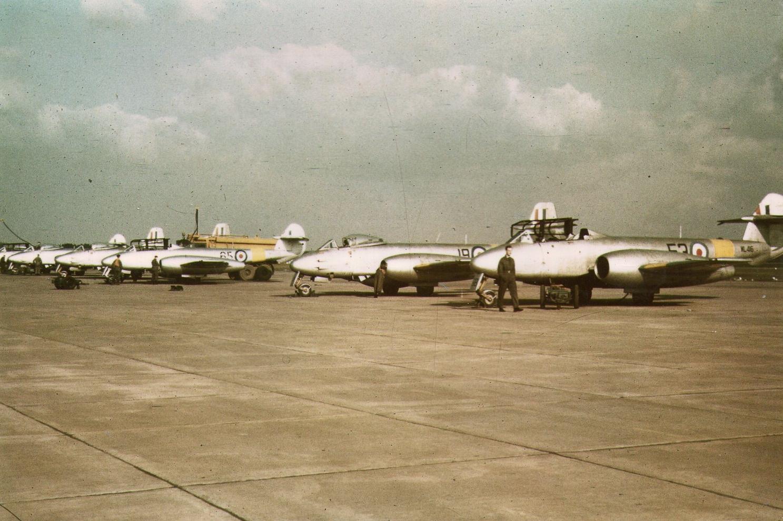 RAF Worksop, RAF Scofton, 211 AFS,WL416, Meteor,
