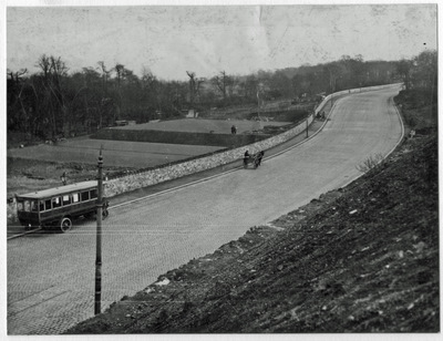 Improvements at Causeway End, 1924
