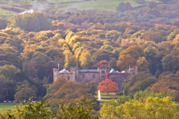towneley park in autumn