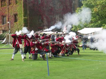 The Sealed Knot Society visits Towneley
