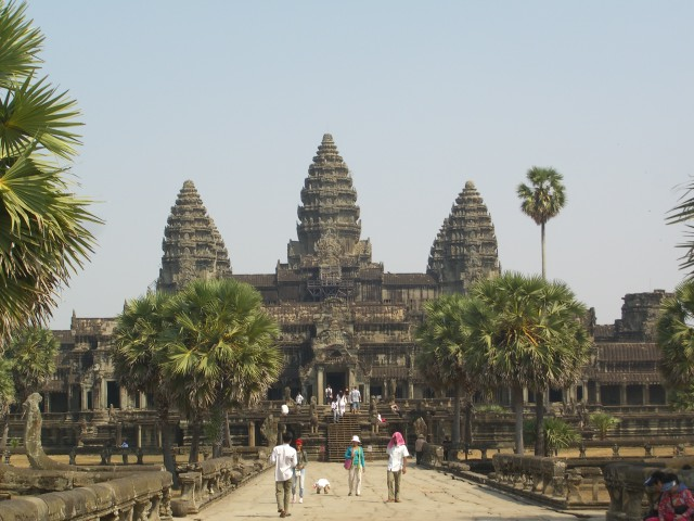 The mighty Angkor Wat