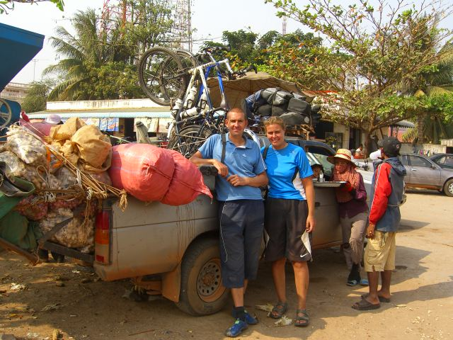 Having to get a pickup to Siem Reap