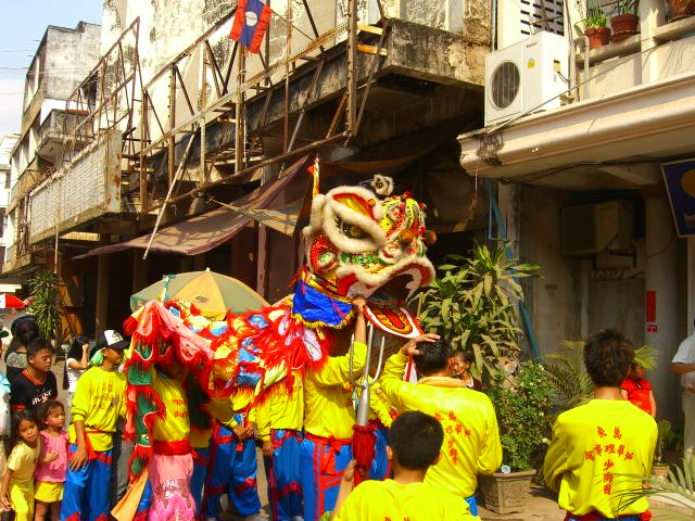 Celebrating the Chinese New Year in Vientiane