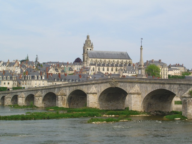 The town of Blois