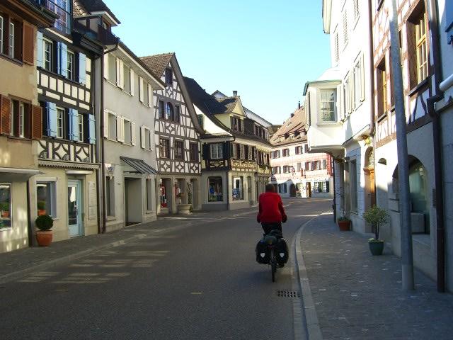 A quaint Swiss town