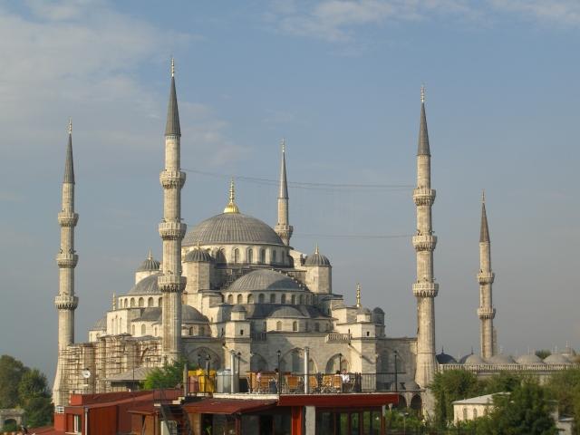 Sultanahmet Mosque Istanbul, built 1610 - 1617