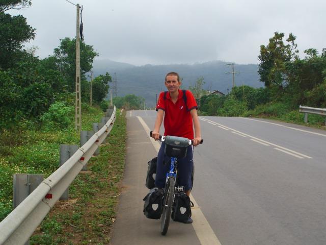 Richard in Vietnam.