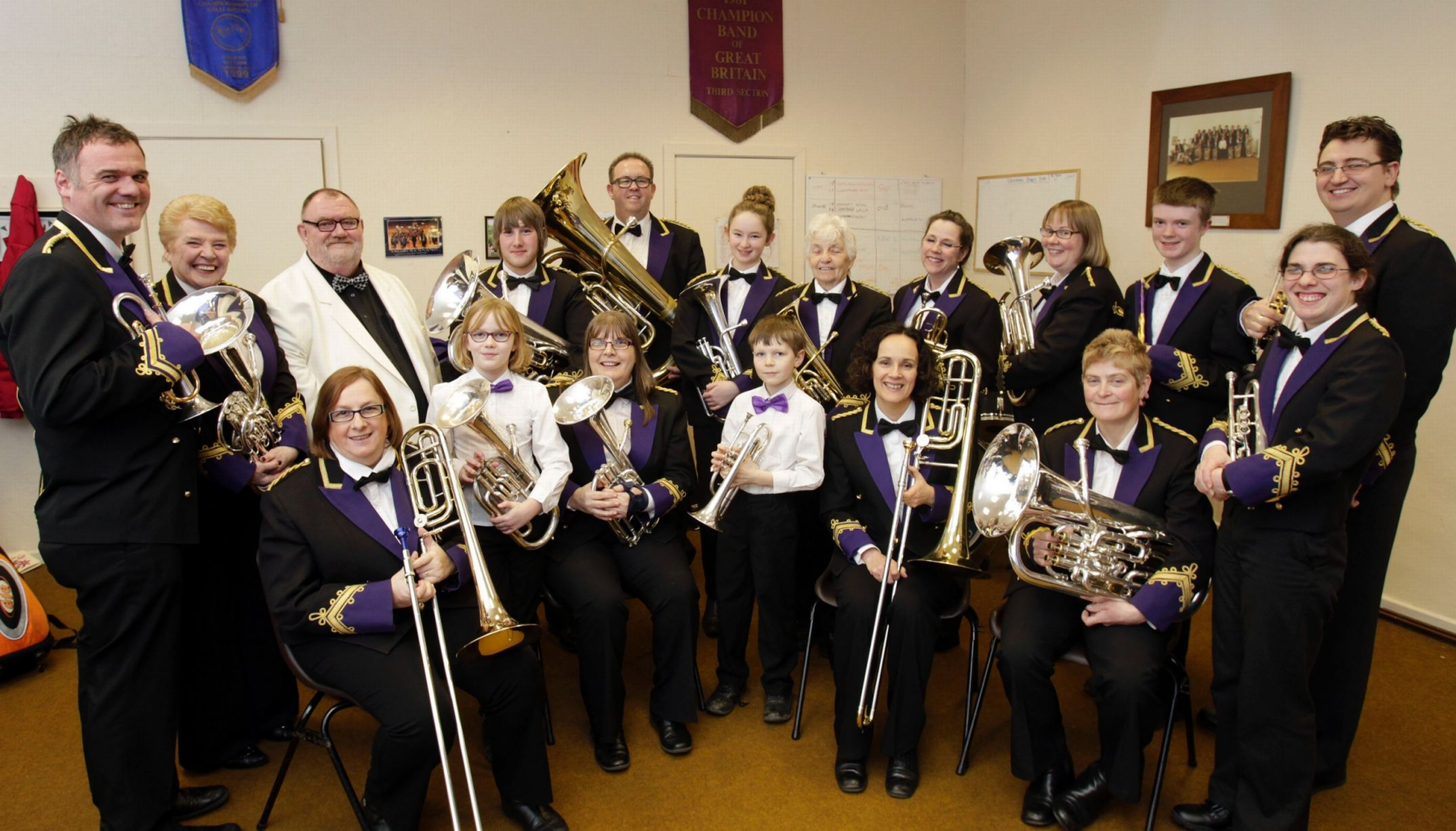 Yorkshire Traction Honley Band in the examiner
