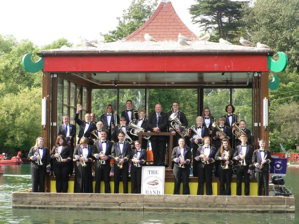 Yorkshire Traction Honley Band in Scarborough