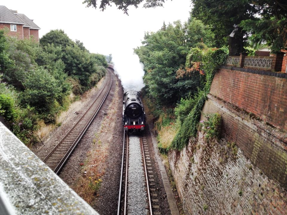 pokesdown steam train