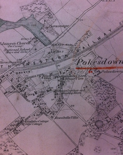 map of pokesdown