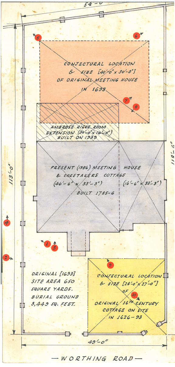 Survey plans of building
