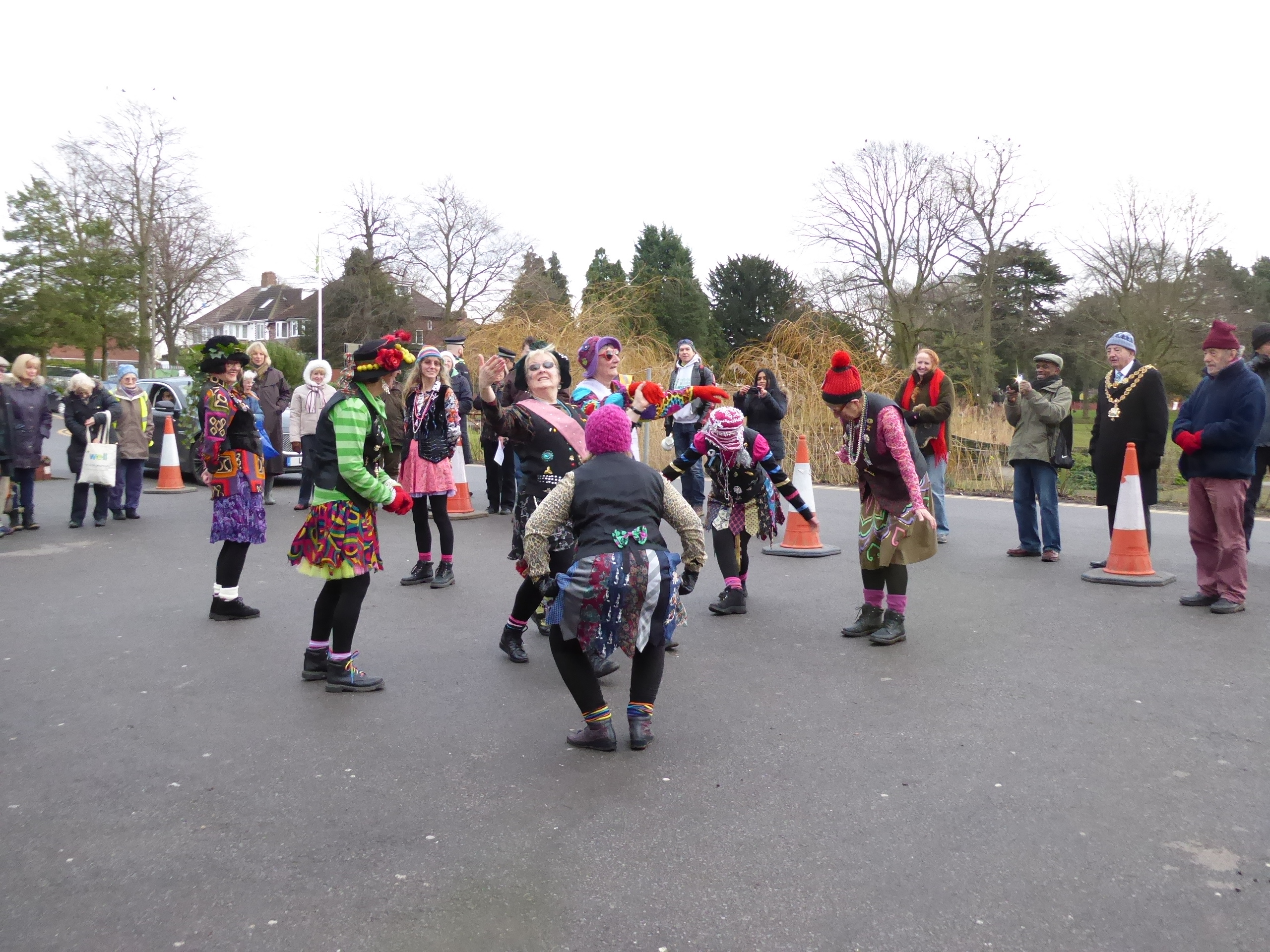 Roller skating hazel grove - The Lord Mayor With Some Of The Friends