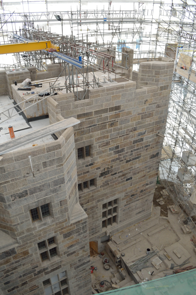 WSNTA Ongoing work at Castle Drogo