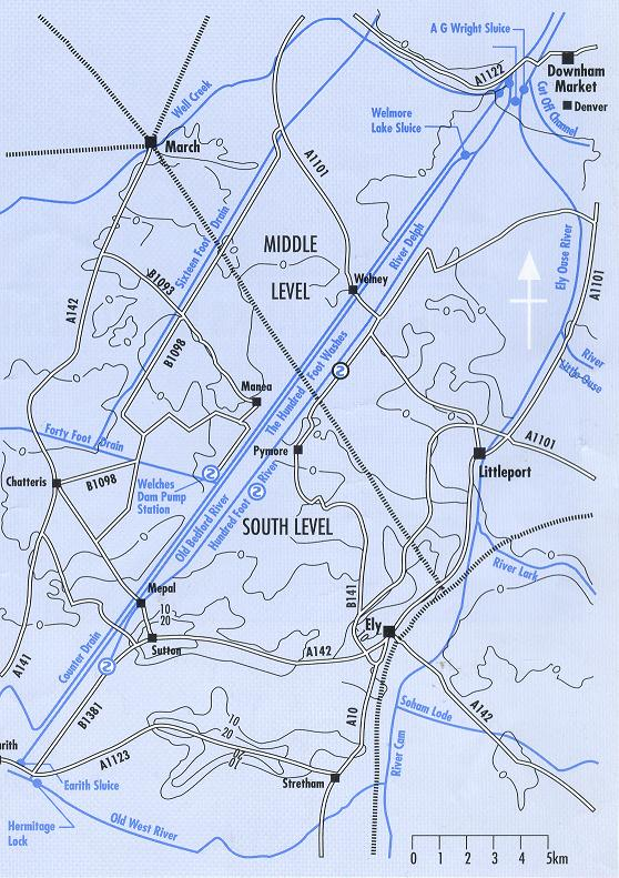 Ouse_Washes_Map