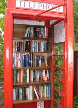 Great Hinton Kiosk Library