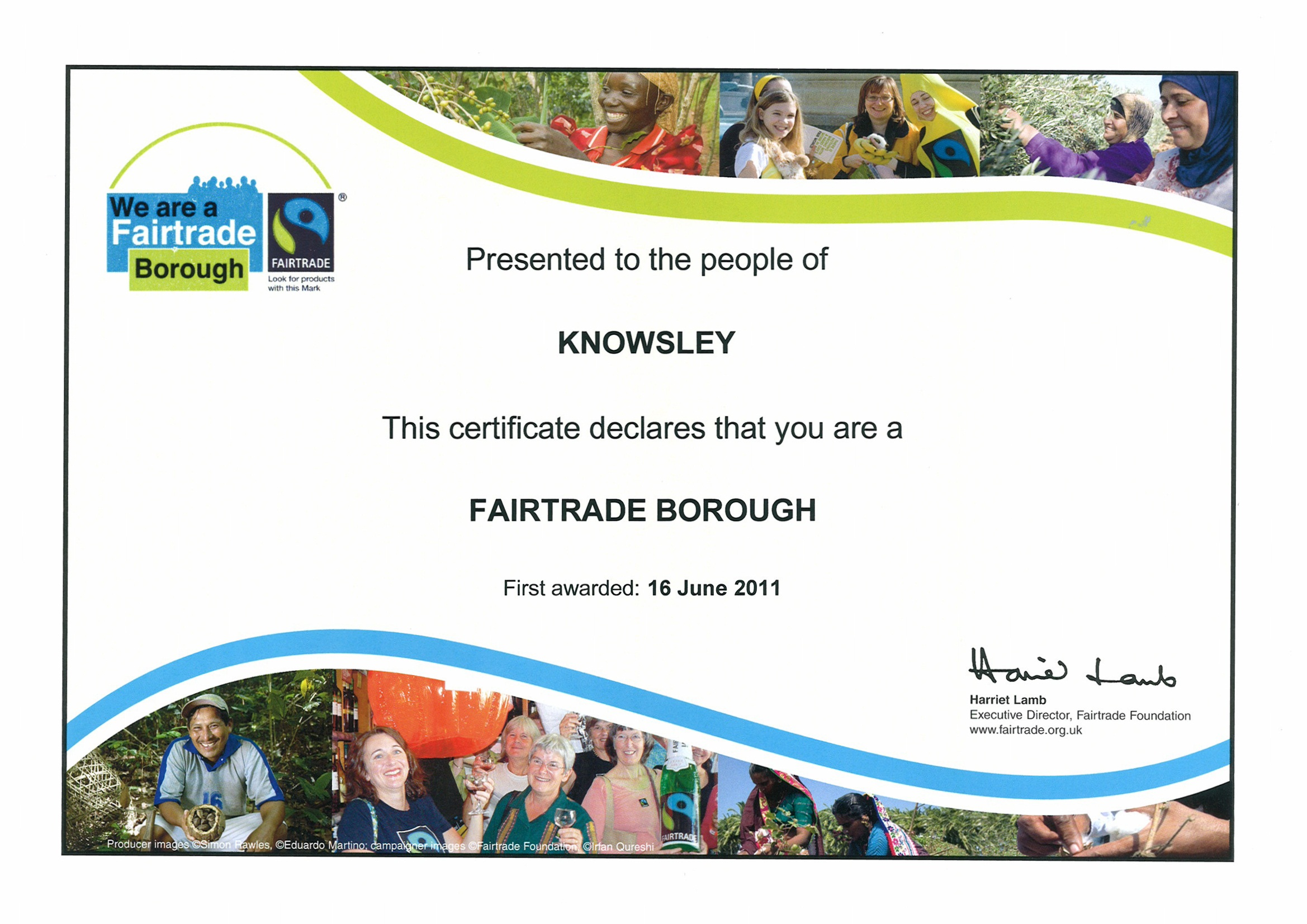 August 2011 Fairtrade Knowsley Celebrates At The Flower Show