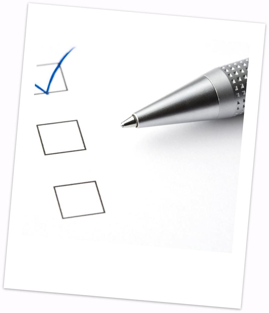 Photo of survey