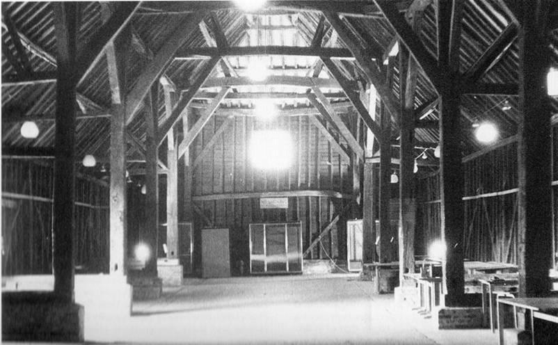 great barn interior