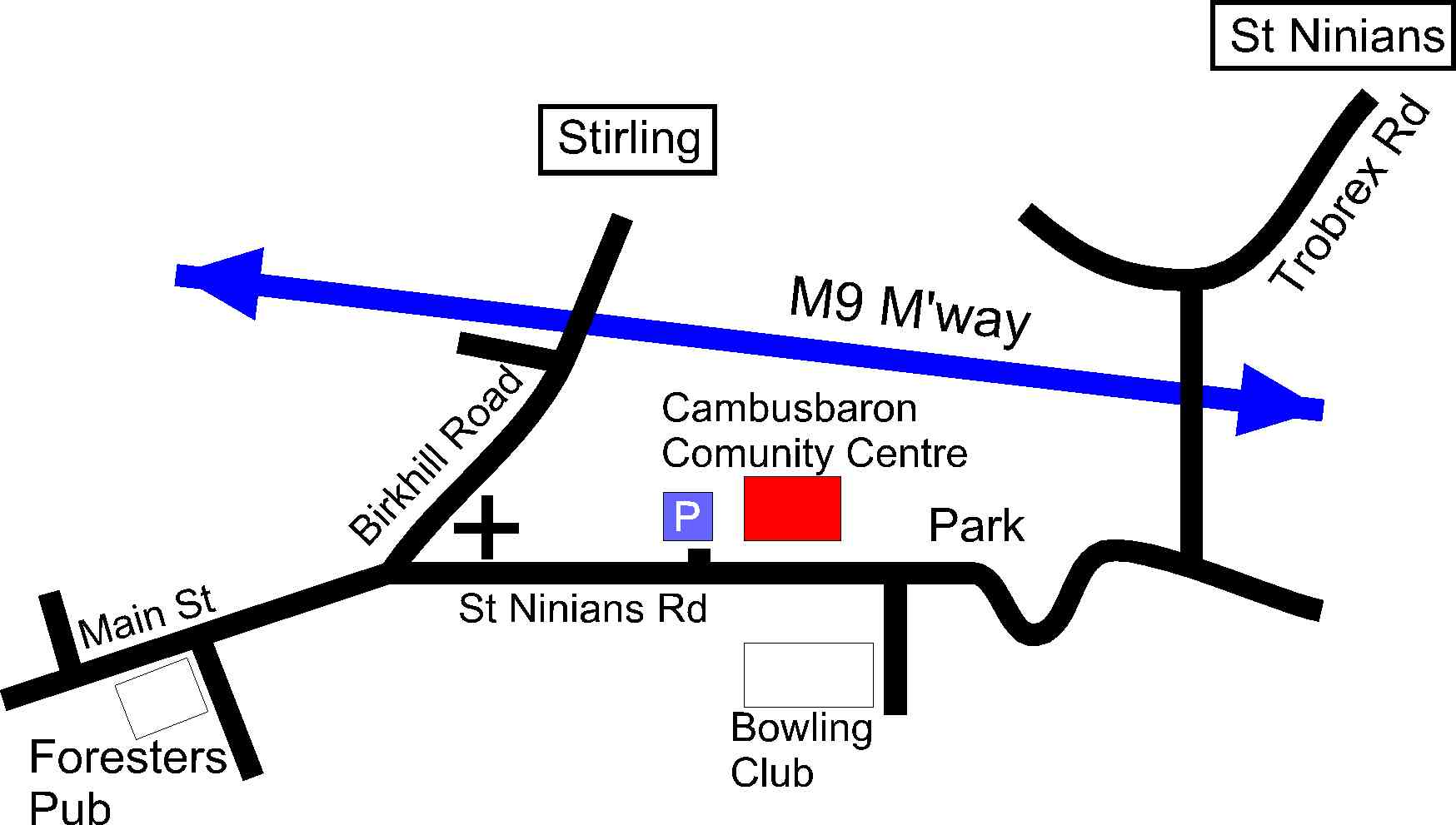 Directions to Cambusbarron Community centre.jpg