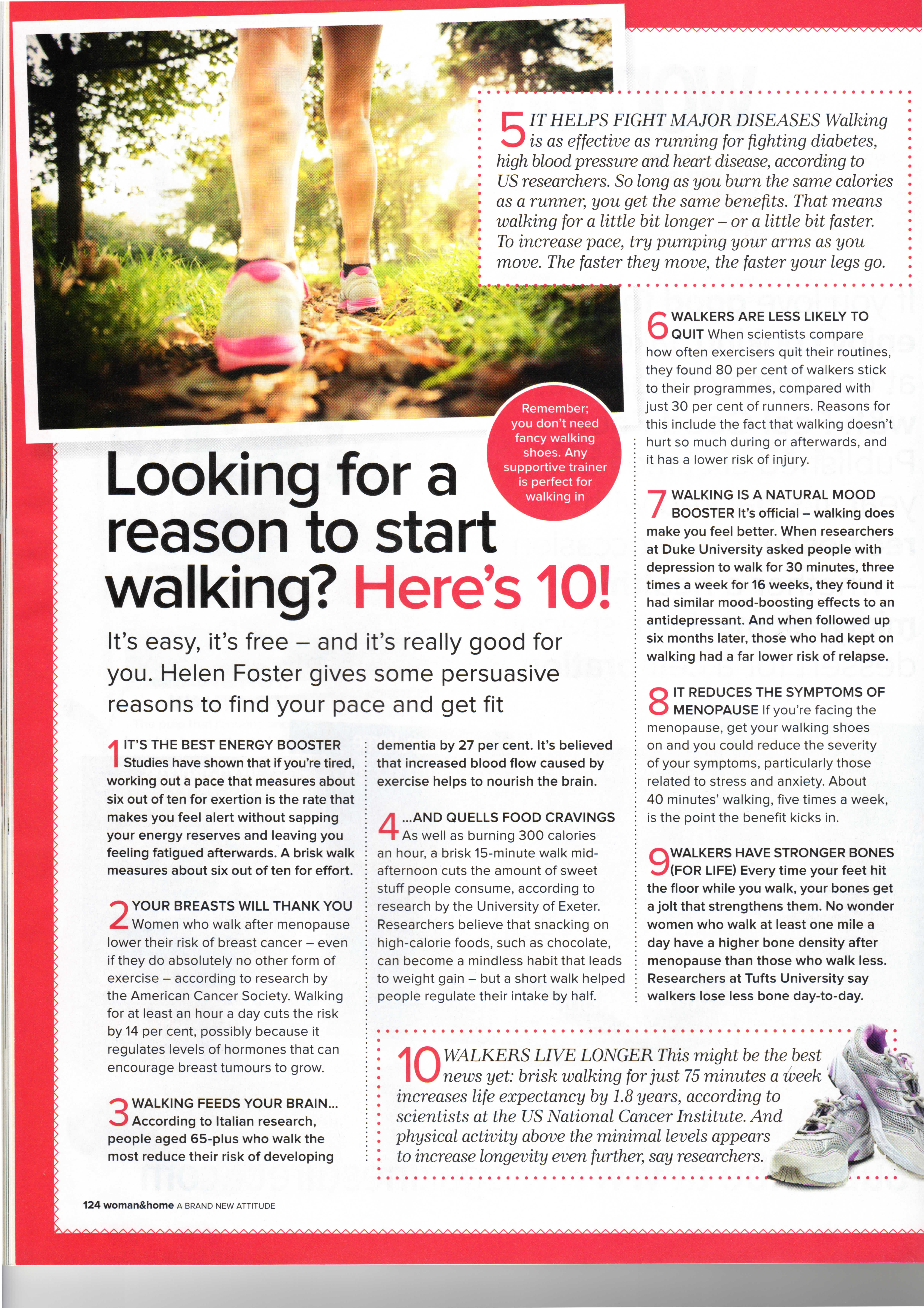 RAMBLERS - North West Kent Group - Article from - Woman & Home ...