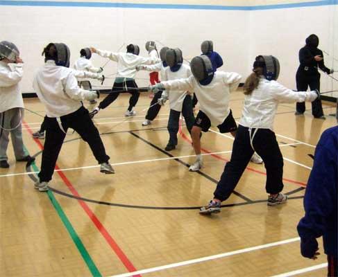 Cotswold Fencing Club Junior Fencing