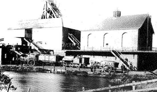 Peel Hall Colliery 1905