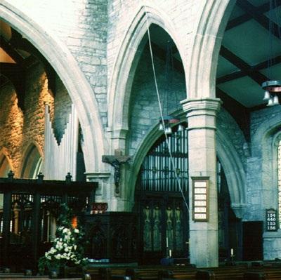 The organ, circa 1972