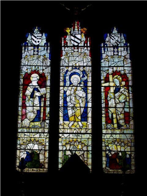St Elizabeth, St John the Baptist and St Helen, circa 1450